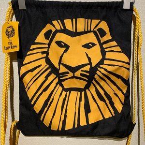 Disney The Lion King Drawstring Cinch Backpack Bag